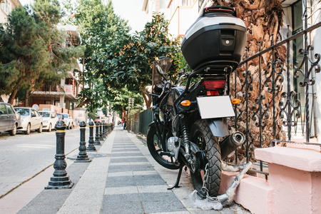 Special motorcycle lock against theft in Orlando